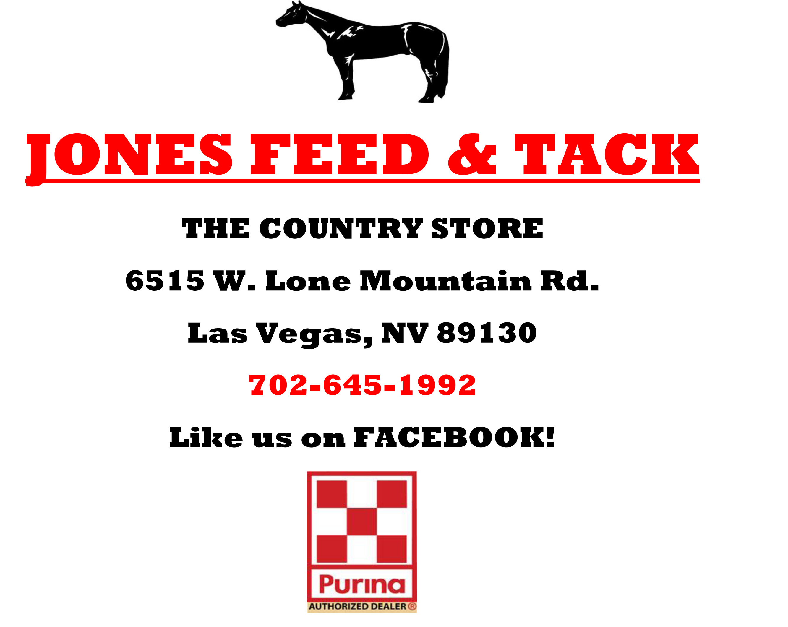 Jones Feed and Tack