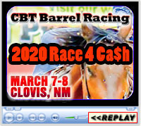 CBT Productions' Race 4 Ca$h, March 7-8, 2020 ~ Clovis, NM