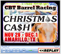 15th Annual Christmas Cash Barrel Race Weekend, Amarillo National Center Arena, Amarillo, TX - Nov 29-Dec 1, 2019