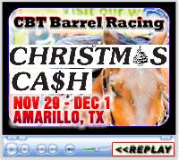 15th Annual Christmas Cash Barrel Race Weekend, Amarillo National Center Arena, Amarillo, TX - Nov 29-Dec 1, 2019