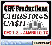 13th Annual Christmas Cash Barrel Race Weekend, Amarillo, TX - December 1-3, 2017