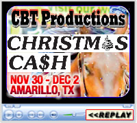 14th Annual Christmas Cash Barrel Race Weekend, Amarillo National Center Arena, Amarillo, TX - Nov 30-Dec 2, 2018