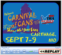 7th Annual Carnival of Cans, Lucky J Arena, Carthage, MO - September 7-9, 2018