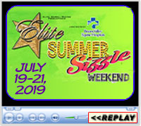 Elite Summer Sizzle, July 18-21, 2019, Extraco Events Center, Waco, TX