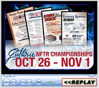 Guthrie NFTR Championships, Lazy E Arena, Guthrie, OK - Oct 26 - Nov 1, 2019
