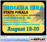 Indiana IBRA State Finals, August 18-20, 2017, Cloverdale, IN - C Bar C Expo Center