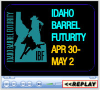 Idaho Barrel Futurity, Ford Idaho Horse Park, Nampa, ID - April 30 - May 2, 2021