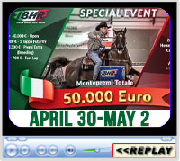 2021 IBHR - Italian Barrel Racing Special Event - Cattolica - Italy - April 30-May 2, 2021
