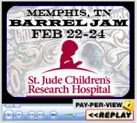 Annual St Jude Barrel Jam, Shelby Showplace Arena, Memphis, TN - February 22-24, 2019