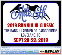 Mile Hi 2019 Runnin' Hi Classic, The Ranch, Larimer County Fairgrounds and Events Complex, Loveland, CO - September 20-22, 2019
