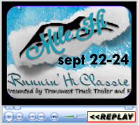 Mile Hi Runnin' Hi Classic, The Ranch-Larimer County Fairgrounds, Loveland, CO ~ September 22-24, 2017