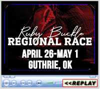 Ruby Buckle Regional Barrel Race, Lazy E Arena, Guthrie, OK, April 26 - May 1, 2021