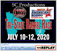 Cowgirl TUFF Tri-State Barrel Race & RFD-TV's The American Qualifier, Minnesota Equestrian Center, July 10-12, 2020
