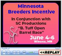 Minnesota Breeders Incentive, Minnesota Equestrian Center – Winona, MN, June 4-6, 2021