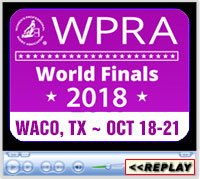 WPRA 2018 World Finals, Waco, TX - October 18-21, 2018