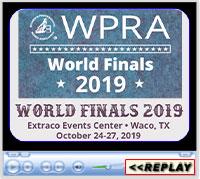 WPRA World Finals, Extraco Events Center, Waco, TX - October 24-27, 2019