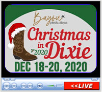 Christmas in Dixie and American Qualifier, Kirk Fordice Equine Center, Jackson, MS - December 18-20. 2020